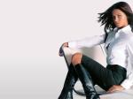 adriana lima wearing a white shirt hd